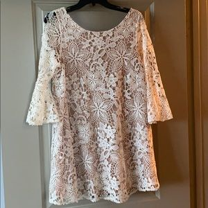 NWT Judith March Lace Tunic
